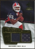 2008 Upper Deck SP Rookie Threads Flashback Fabrics #FFLY Marshawn Lynch /115