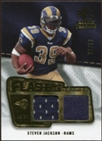 2008 Upper Deck SP Rookie Threads Flashback Fabrics 99-115 #FFSJ Steven Jackson /115
