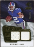 2008 Upper Deck SP Rookie Threads Flashback Fabrics 99-115 #FFSS Steve Smith USC /115