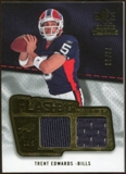 2008 Upper Deck SP Rookie Threads Flashback Fabrics #FFTE Trent Edwards /115