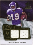2008 Upper Deck SP Rookie Threads Flashback Fabrics #FFWI Troy Williamson /99