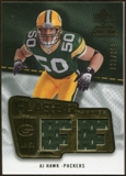 2008 Upper Deck SP Rookie Threads Flashback Fabrics #FFAH A.J. Hawk /200
