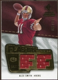 2008 Upper Deck SP Rookie Threads Flashback Fabrics 175-200 #FFAS Alex Smith /200