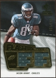 2008 Upper Deck SP Rookie Threads Flashback Fabrics 175-200 #FFAV Jason Avant /200