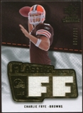 2008 Upper Deck SP Rookie Threads Flashback Fabrics 175-200 #FFCF Charlie Frye /200