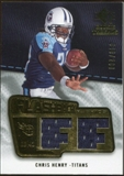2008 Upper Deck SP Rookie Threads Flashback Fabrics 175-200 #FFCH Chris Henry /200