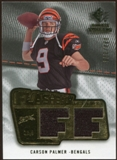 2008 Upper Deck SP Rookie Threads Flashback Fabrics #FFCP Carson Palmer /175