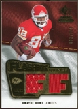 2008 Upper Deck SP Rookie Threads Flashback Fabrics #FFDB Dwayne Bowe /200