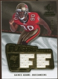 2008 Upper Deck SP Rookie Threads Flashback Fabrics 175-200 #FFGA Gaines Adams /200