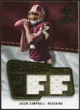 2008 Upper Deck SP Rookie Threads Flashback Fabrics #FFJC Jason Campbell /200