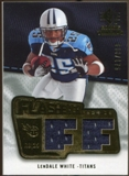 2008 Upper Deck SP Rookie Threads Flashback Fabrics #FFLW LenDale White /175