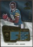 2008 Upper Deck SP Rookie Threads Flashback Fabrics 175-200 #FFML Marcedes Lewis /200
