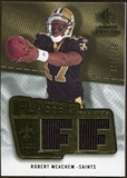 2008 Upper Deck SP Rookie Threads Flashback Fabrics 175-200 #FFRM Robert Meachem /200