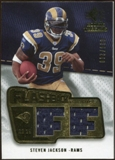 2008 Upper Deck SP Rookie Threads Flashback Fabrics 175-200 #FFSJ Steven Jackson /200