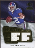 2008 Upper Deck SP Rookie Threads Flashback Fabrics 175-200 #FFSS Steve Smith /200
