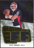 2008 Upper Deck SP Rookie Threads Flashback Fabrics #FFTE Trent Edwards /200
