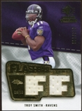 2008 Upper Deck SP Rookie Threads Flashback Fabrics #FFTS Troy Smith /200
