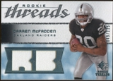 2008 Upper Deck SP Rookie Threads Rookie Threads #RTDM Darren McFadden /125