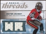 2008 Upper Deck SP Rookie Threads Rookie Threads #RTDX Dexter Jackson /125