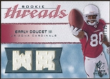 2008 Upper Deck SP Rookie Threads Rookie Threads 125 #RTED Early Doucet /125
