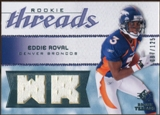 2008 Upper Deck SP Rookie Threads Rookie Threads 125 #RTER Eddie Royal /125