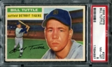 1956 Topps Baseball #203 Bill Tuttle PSA 8 (NM-MT) *4997