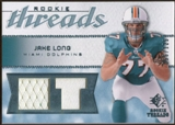 2008 Upper Deck SP Rookie Threads Rookie Threads 125 #RTJL Jake Long /125