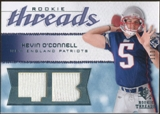 2008 Upper Deck SP Rookie Threads Rookie Threads 125 #RTKO Kevin O'Connell /125
