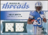 2008 Upper Deck SP Rookie Threads Rookie Threads 125 #RTKS Kevin Smith /125