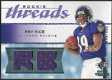 2008 Upper Deck SP Rookie Threads Rookie Threads #RTRR Ray Rice /125