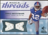 2008 Upper Deck SP Rookie Threads Rookie Threads #RTMM Mario Manningham /75