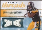2008 Upper Deck SP Rookie Threads Rookie Threads 75 #RTRM Rashard Mendenhall /75