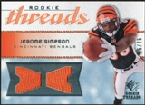 2008 Upper Deck SP Rookie Threads Rookie Threads #RTSI Jerome Simpson /75