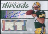 2008 Upper Deck SP Rookie Threads Rookie Threads Autographs #RTBB Brian Brohm /50
