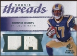 2008 Upper Deck SP Rookie Threads Rookie Threads #RTDA Donnie Avery /199