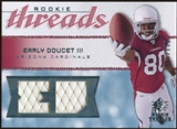 2008 Upper Deck SP Rookie Threads Rookie Threads 199 #RTED Early Doucet /199