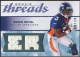 2008 Upper Deck SP Rookie Threads Rookie Threads 199 #RTER Eddie Royal /199