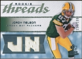2008 Upper Deck SP Rookie Threads Rookie Threads #RTJN Jordy Nelson /199