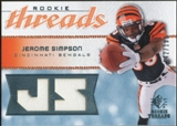 2008 Upper Deck SP Rookie Threads Rookie Threads 199 #RTSI Jerome Simpson /199