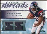 2008 Upper Deck SP Rookie Threads Rookie Threads #RTSS Steve Slaton /199