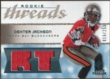 2008 Upper Deck SP Rookie Threads Rookie Threads #RTDX Dexter Jackson /250
