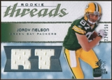 2008 Upper Deck SP Rookie Threads Rookie Threads 250 #RTJN Jordy Nelson /250