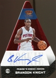 2012/13  Panini Preferred #540 Brandon Knight PC Autograph 58/99