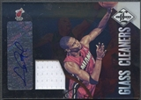 2012/13 Limited #24 Chris Bosh Glass Cleaners Materials Signatures Jersey Auto #04/25