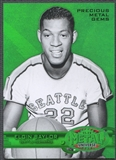 2011/12 Fleer Retro #28 Elgin Baylor Precious Metal Gems Green #07/10