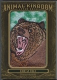 2011 Upper Deck Goodwin Champions #AK9 Grizzly Bear Animal Kingdom Patch