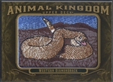2011 Upper Deck Goodwin Champions #AK13 Western Diamondback Animal Kingdom Patch