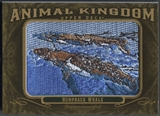 2011 Upper Deck Goodwin Champions #AK25 Humpback Whale Animal Kingdom Patch