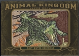 2011 Upper Deck Goodwin Champions #AK36 Salt Water Crocodile Animal Kingdom Patch