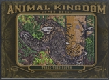 2011 Upper Deck Goodwin Champions #AK42 Three-Toed Sloth Animal Kingdom Patch